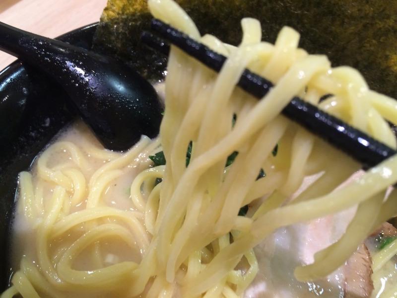 極太ストレート麺