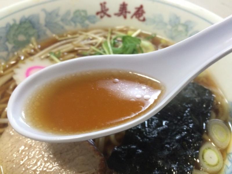 蕎麦つゆのかえしベースのスープ