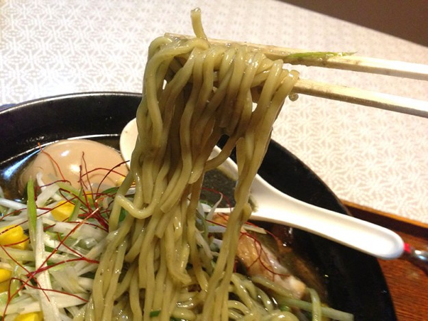 ラーメン絆 四街道 の麺