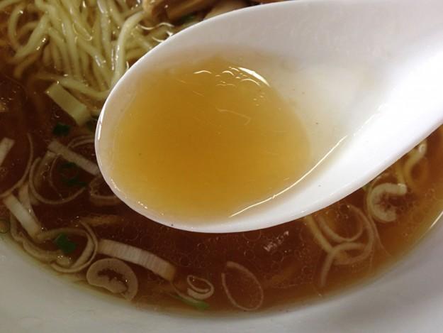 海空土の透明度の高いスープ