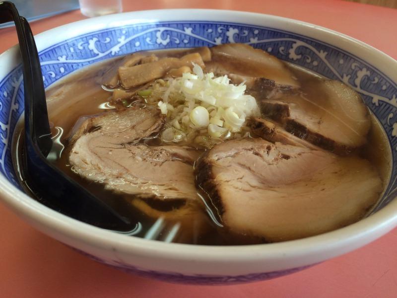 夏のチャーシュー麺 正油味