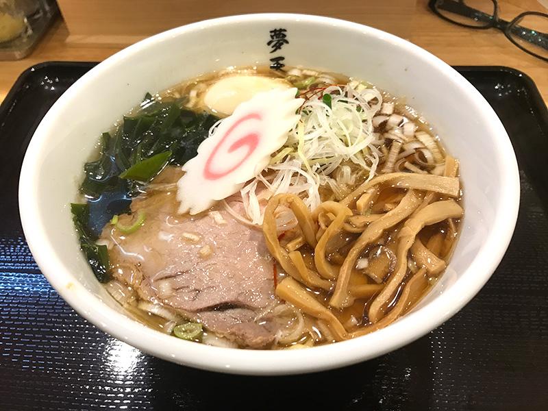 煮干しラーメン(佐倉・むてんか)