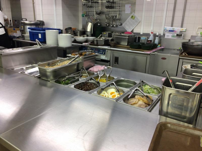 厨房の風景