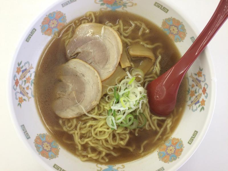 千葉大 学食 - 濃厚煮干しラーメン