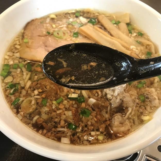肉盛りラーメンのスープ