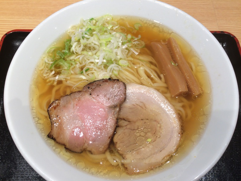 松戸富田麺業 - ラーメン(並)-