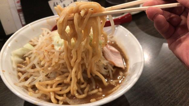 もっさり系の太麺
