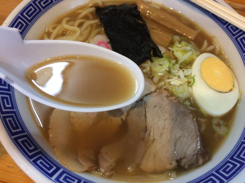 まろやかな味わいのスープ
