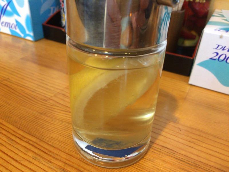フルーツ酢 = レモン + お酢