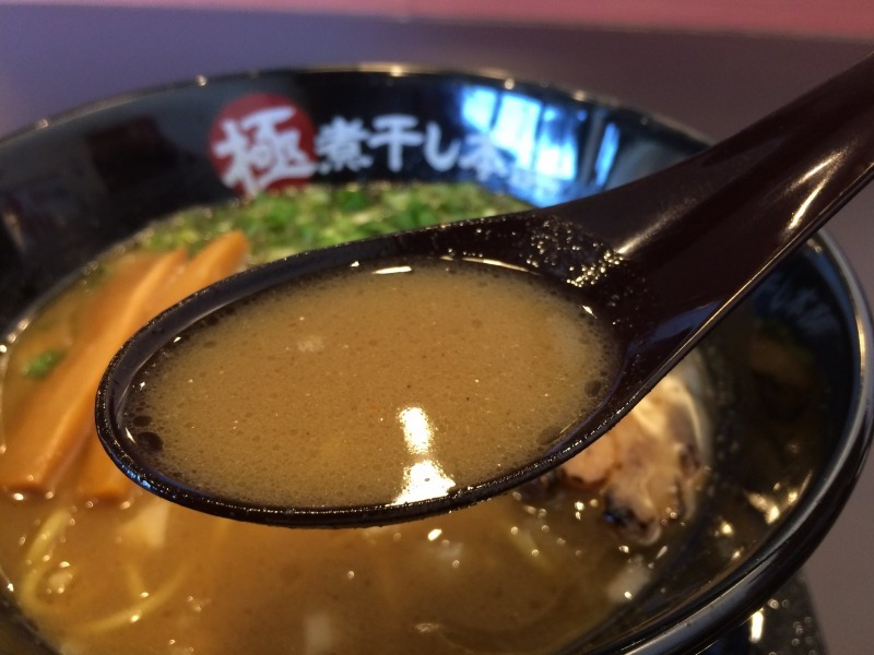 魚介煮干しスープ