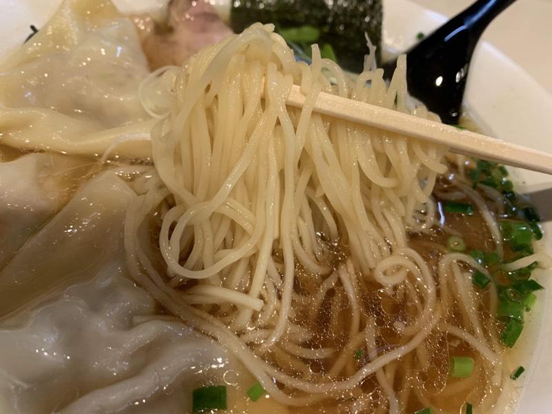麺は細〜い。素麺よりも細〜〜い