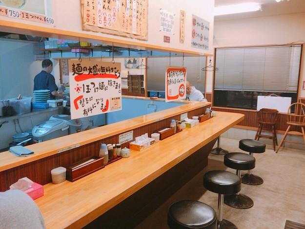 小倉町の一天 店内