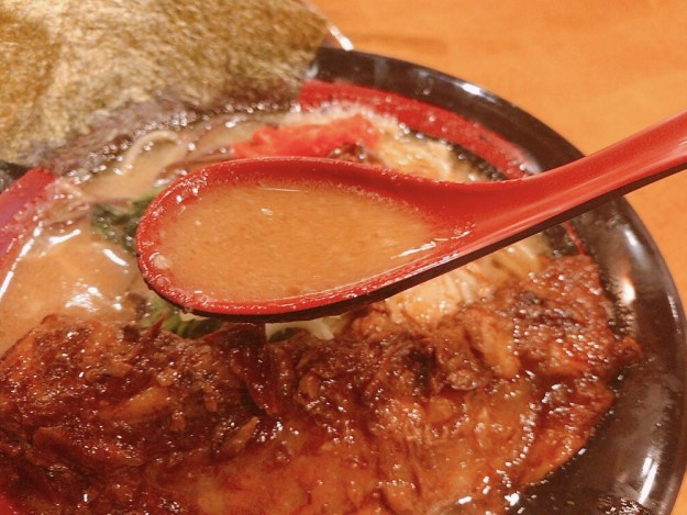 甘みがあるスープ