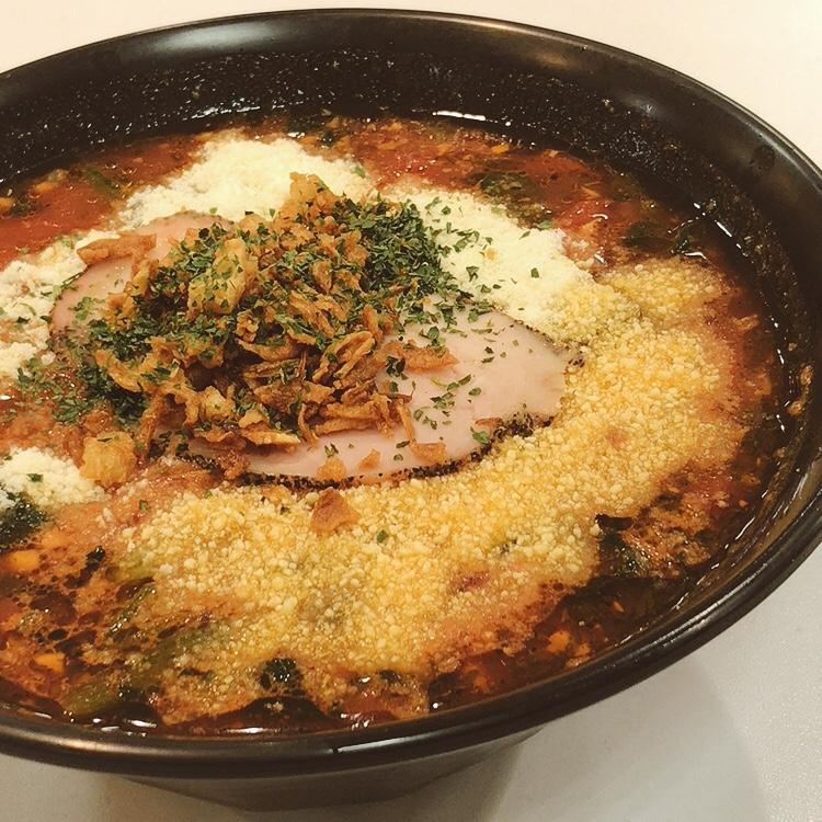 ラーメン印西ビックホップ(千葉)黄金バンカ麺