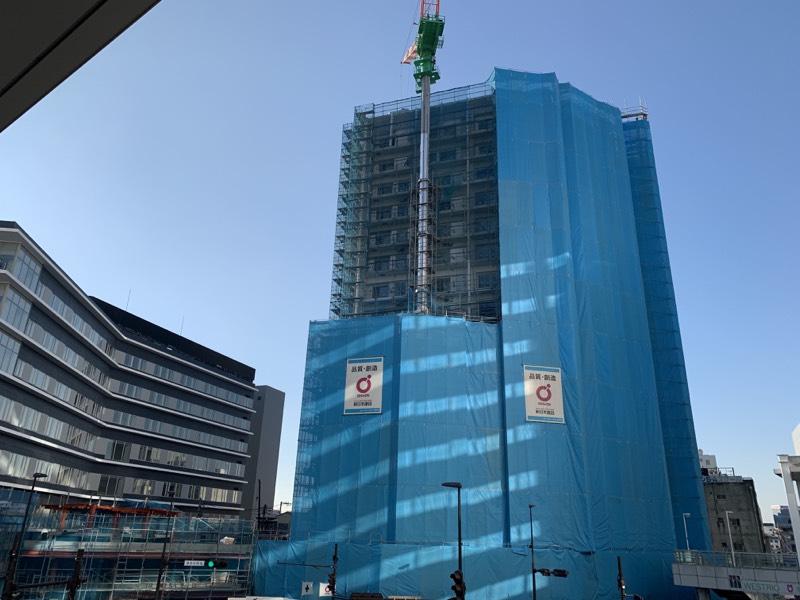 拡張建設中ビルディング