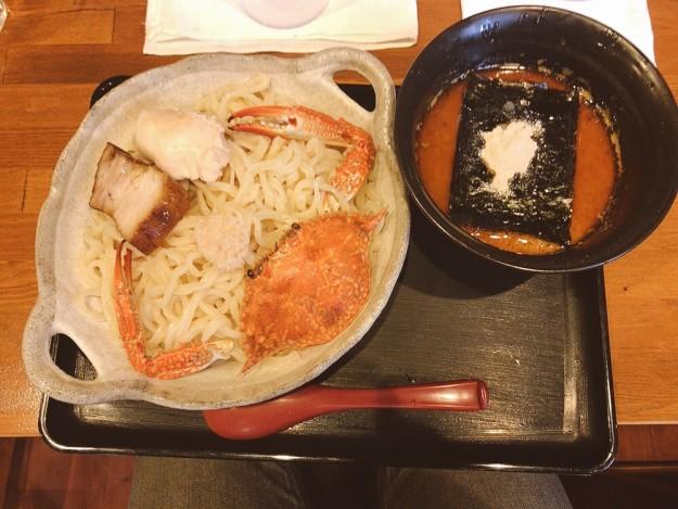 濃カニつけ麺
