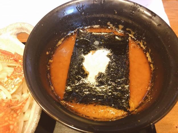これがカニ味噌スープ