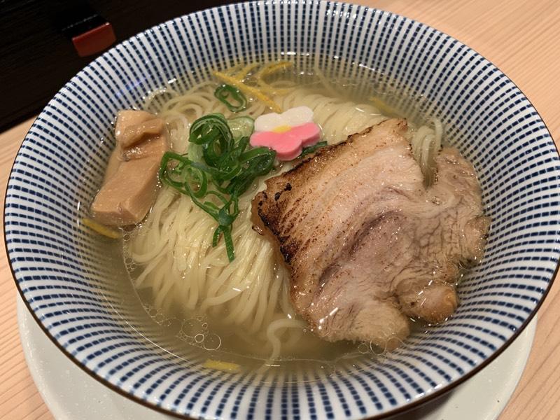 鯛塩そば 灯花 - 鯛塩らぁ麺