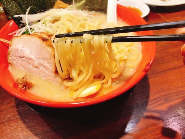 こだわりの麺