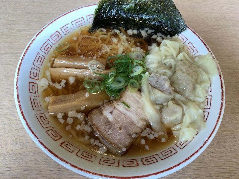 肉ワンタン麺(醤油) - わん助 そごう千葉店