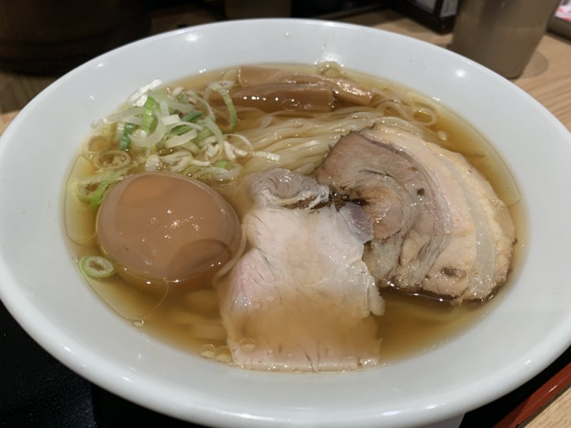 松戸富田麺業 - 半熟味玉ラーメン