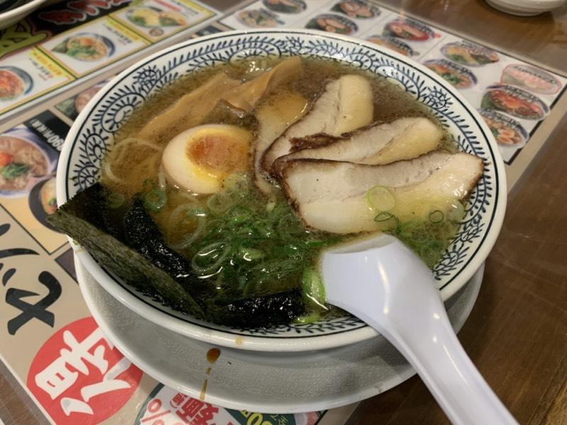 丸源ラーメン - 熟成醤油丸源チャーシュー麺