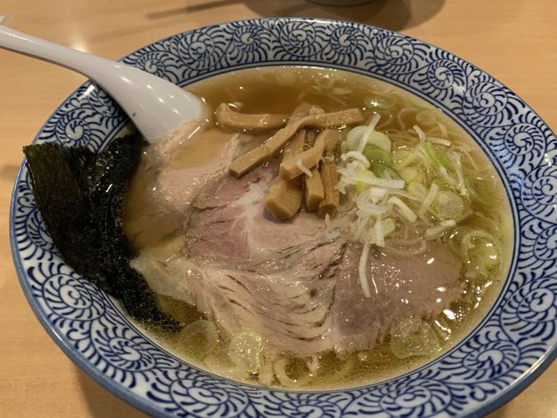 めん丸 仁戸名店 - 醤油ラーメン